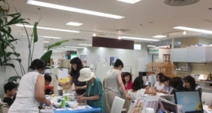 船橋店 モザイクタイルフォトフレーム作りイベント