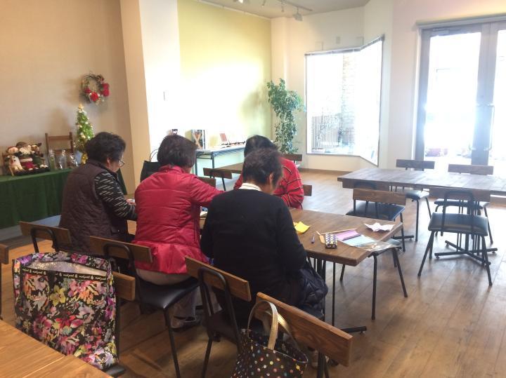 折り紙バラ折り講習会