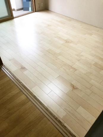 畳からフローリングにして、お掃除がしやすくなった