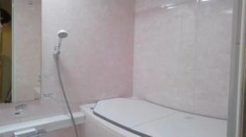 壁のピンクがとても綺麗で大変満足しています。