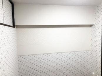壁材選びは迷いましたが、お気に入りの部屋になりました。