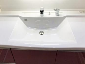 希望した通り使いやすい洗面台になった。